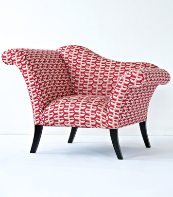 Pink Chaise Chair