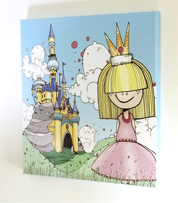 Princess and the Castle Screenboard